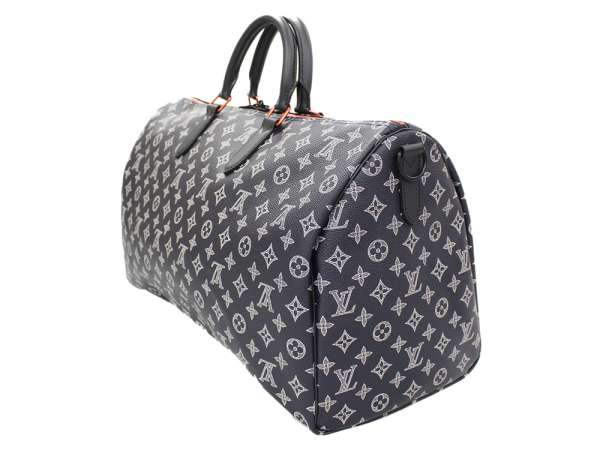 ee652f8254ab Louis Vuitton Boston bag monogram ink key Poll band re-yell 50 up side down  M43684 LOUIS VUITTON men travel trip