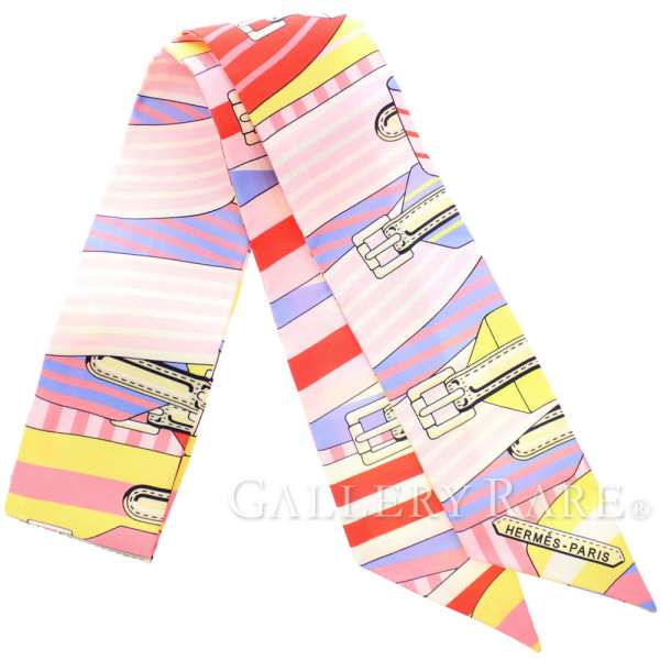 エルメス スカーフ ツイリー シルクツイル サングル Sangles HERMES シルクスカーフ 2019年春夏コレクション