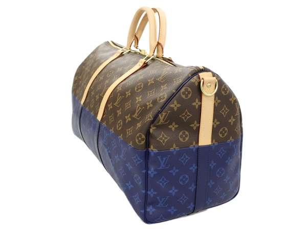1ffbd88ce93d Louis Vuitton Boston bag monogram split key Poll band re-yell 50 M43861 LOUIS  VUITTON men travel trip