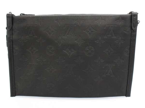 58abf84588 LOUIS VUITTON Flat Messenger Calf Leather Shoulder Bag M44635 Authentic  5495313