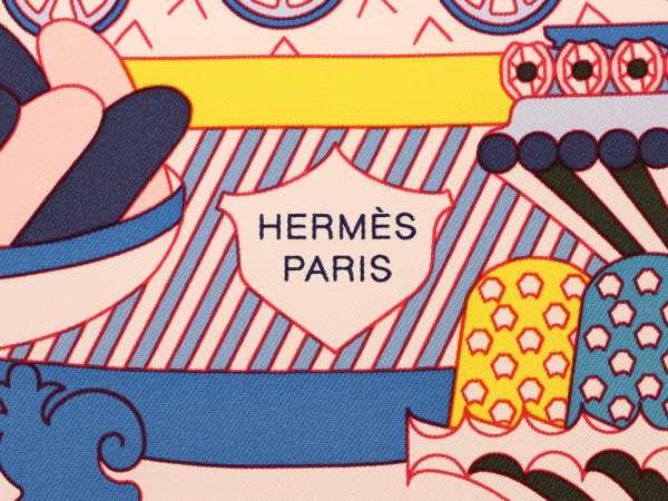 ポイント5倍 エルメス スカーフ カレ90 ラ・パティスリー・フランセーズ La Patisserie Francaise HoxQrWECdBe