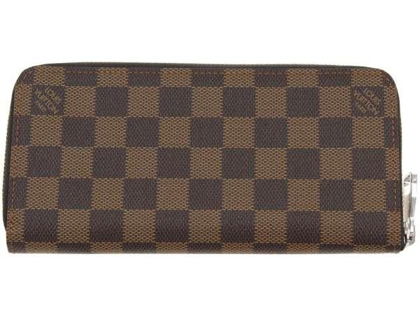 路易 · 威登长钱包双色格子钱包垂直 N61207 路易威登路易威登钱包男人