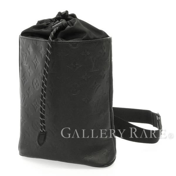 102734819b Louis Vuitton shoulder bag monogram shadow chalk sling bag M44633 LOUIS  VUITTON bag men
