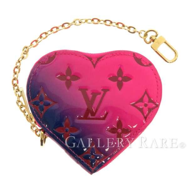 ルイヴィトン コインケース モノグラム ヴェルニ ポルトモネクール バレンタインコレクション M64166 LOUIS VUITTON ヴィトン 小銭入れ
