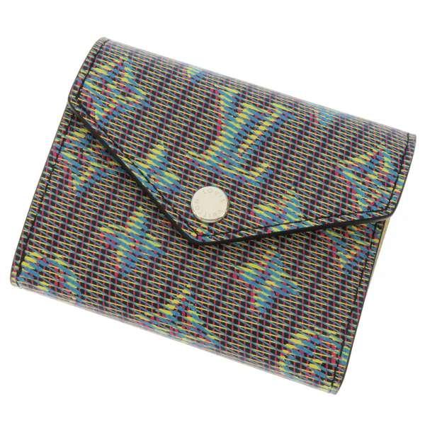 ルイヴィトン 三つ折り財布 モノグラ・LVポップ ポルトフォイユ・ゾエ M68665 LOUIS VUITTON ヴィトン コンパクト財布 ヴェール