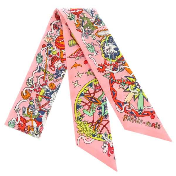 エルメス スカーフ ツイリー ラ・フォル・パレード La Folle Parade HERMES シルクツイル 2020年春夏