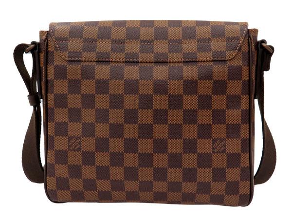 Louis Vuitton 单肩包双色格子区 PM N41213 路易 · 威登路易威登包男装
