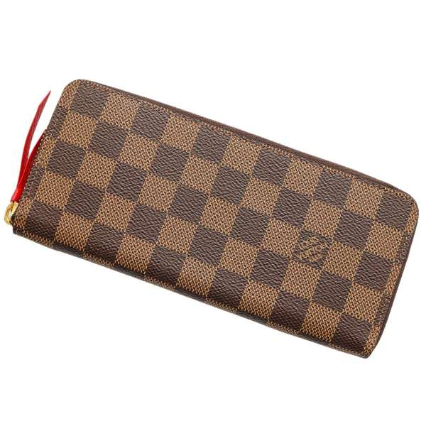 cbad328bad Takeru Louis Vuitton wallet ダミエポルトフォイユ Clement's N60534 LOUIS VUITTON  Vuitton wallet LV men gap Dis pretty brown Brown red red popular thin thin  smart ...