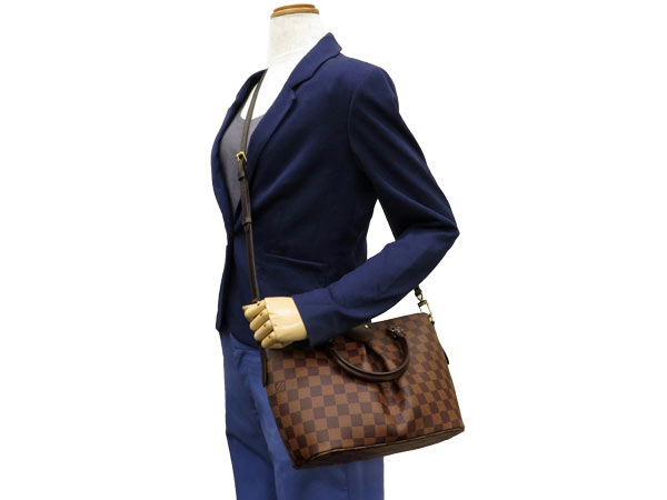 Louis Vuitton handbag Damier Siena PM N41545 LOUIS VUITTON Vuitton bag 2-way shoulder bag