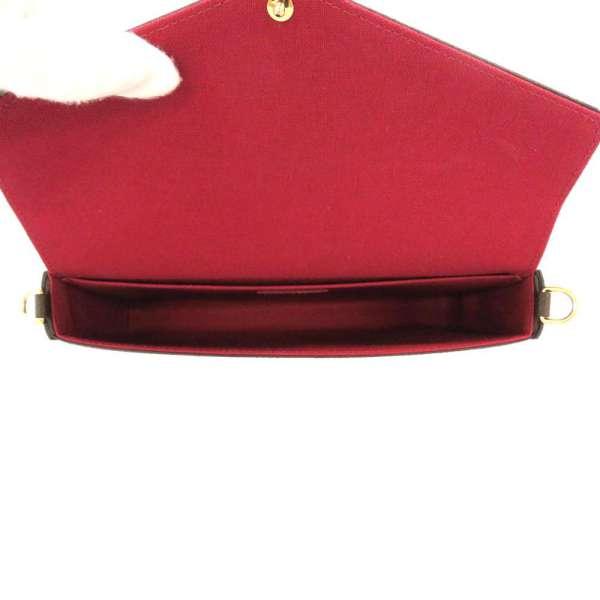 Louis Vuitton 链钱包会标 Felice M61276 路易威登钱包袋离合器袋挎包