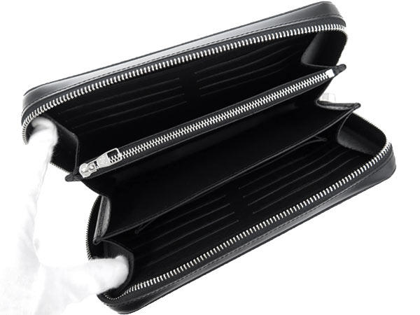 Louis Vuitton long wallet Damier graphite zippy XL with handle N41503 LOUIS VUITTON Vuitton wallet men's clutch bag