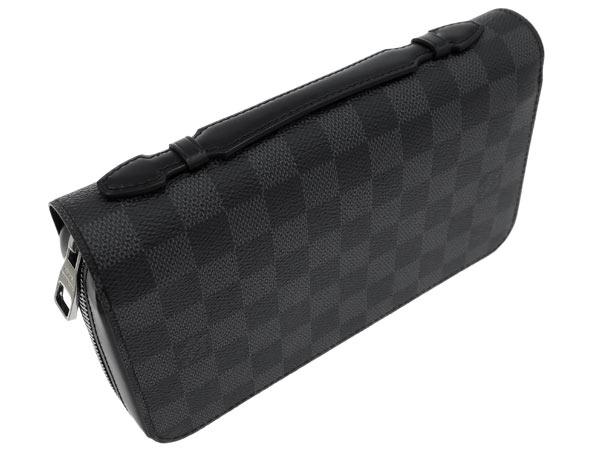 有路易威登长钱包damie·gurafittojippi XL方向盘的N41503 LOUIS VUITTON威登钱包人离合器袋