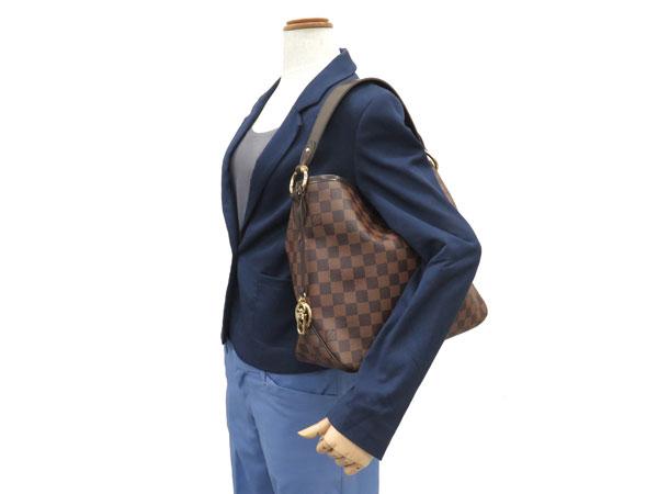 路易 · 威登挎包双色格子令人愉快的 PM N41459 路易威登路易威登包肩