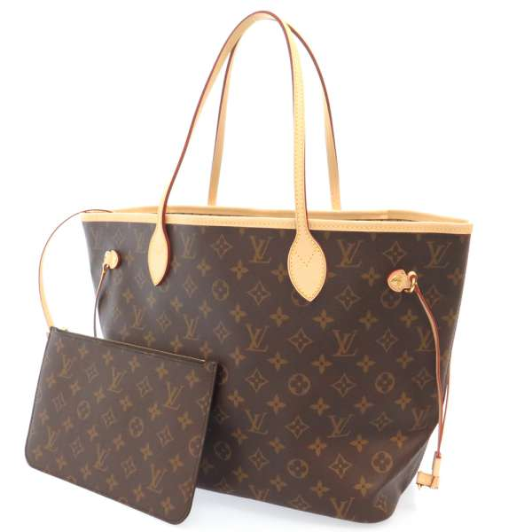 Louis Vuitton Monogram Neverfull Mm Tote Bag M40995