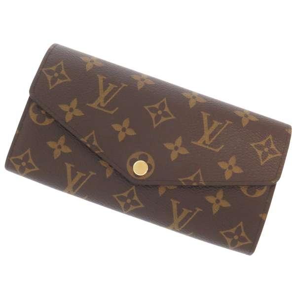 Sarah M60531 VUITTON LOUIS VUITTON wallet, Louis Vuitton long wallet Monogram Canvas long wallet