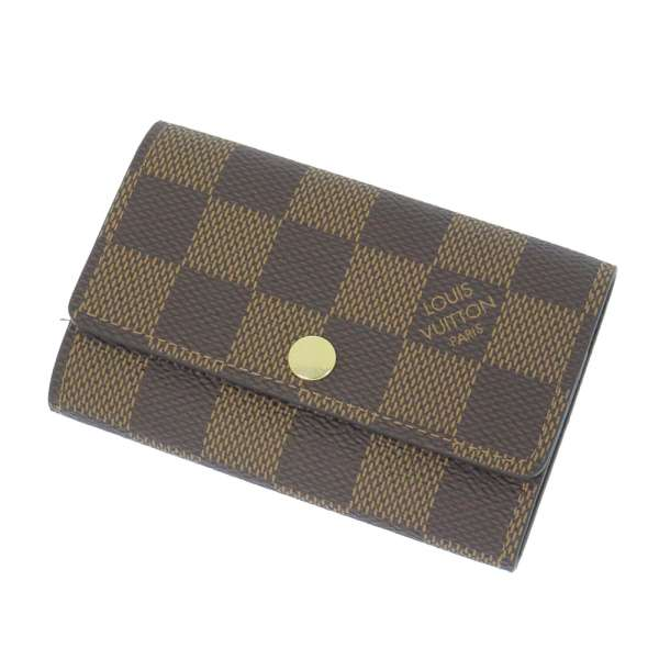 Louis Vuitton key case 6-Damier multicore 6 N 62630 VUITTON LOUIS VUITTON key case
