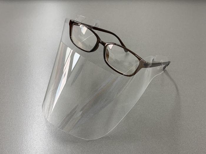 メガネ装着型フェイスシールド 爆安プライス お気に入 スマートシールド スタンダード 5枚セット