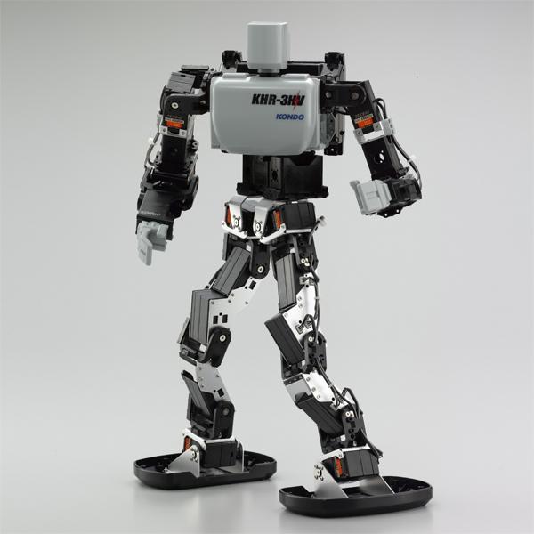 """2双步行机器人组装配套元件""""KHR-3HV Ver.2""""[在gachibatoru 1]"""