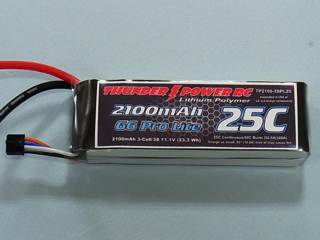 锂聚合物电池TP2100-3SPL25