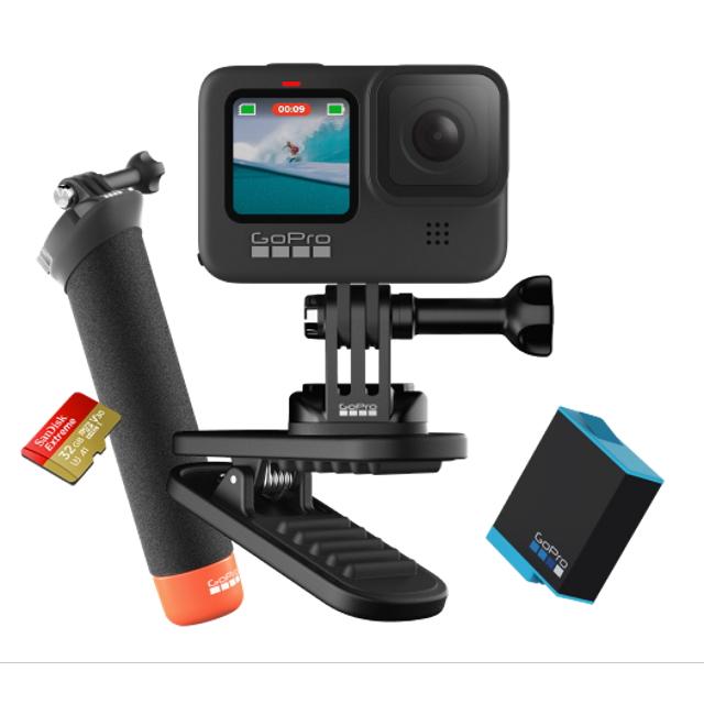 注文割引 ウェアラブルカメラ 限定バンドルセット GoProゴープロ 防水 HERO9 20 Black CHDRB-901-FW GoPro5K GoPro5K ビデオ 20 MP ライブストリーミング ウェブカメラブラック 防水 アウトドア, フジサトマチ:817e35d0 --- superbirkin.com