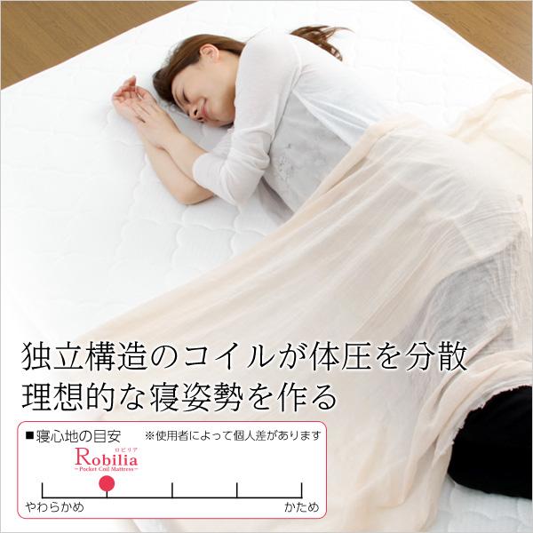 s-fm-05-d ポケットコイルスプリングマットレス ダブル用♪