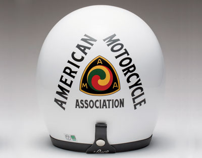 Motorcycle helmets BUCO AMA plain base white (L~XL)size