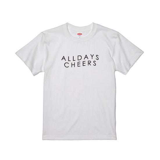 G is good ジーイズグッド 通信販売 ALL DAYS ※アウトレット品 スーパーSALE20%オフ CHEERS 200304 Tシャツ 毎日乾杯