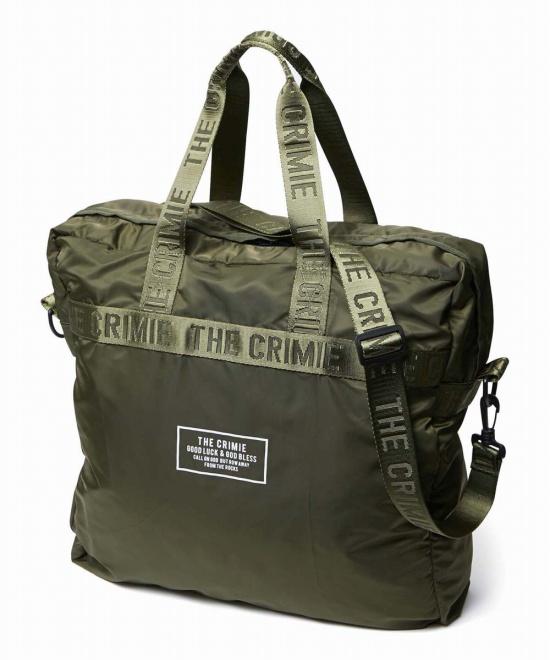 CRIMIE(クライミー)PACKABLE TOTOE BAGパッカブルトートバッグ【KHAKI】CRIMIE2020春夏