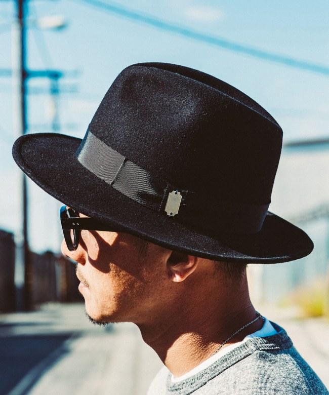 CRIMIE(クライミー) ローリングハットROLLING HAT(BLACK) %CPH CRIMIE2019定番