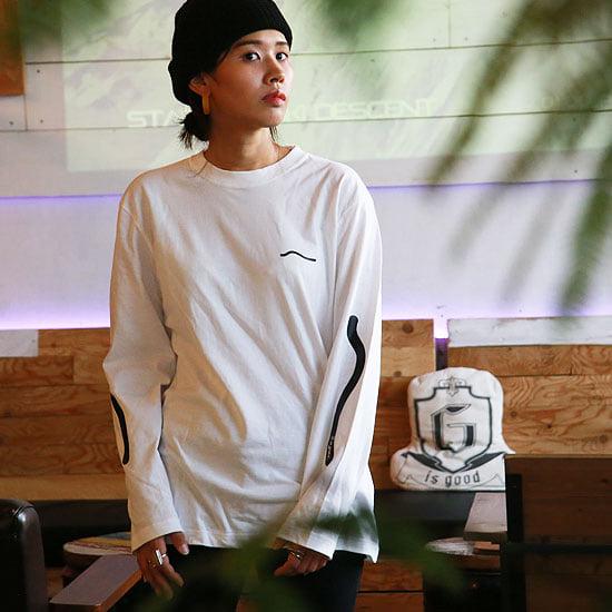 G is 商店 good ジーイズグッド 正規通販GReeD 210213 LINE スーパーSALE20%オフ GOOD 無料サンプルOK ロングスリーブTシャツ