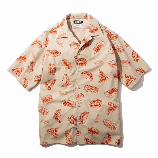 【予約商品6月入荷予定】RULER(ルーラー)MUNCHEESE OPEN-COLLAR SHIRTSオープンからシャツ RULER2020夏