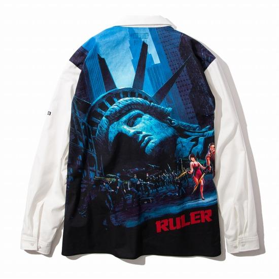 【予約商品7月入荷予定】RULER(ルーラー)EFNY SHIRTSシャツ RULER2020夏