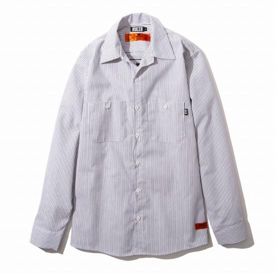 【予約商品7月入荷予定】RULER(ルーラー)FTW REDKAP WORK SHIRTSワークシャツ RULER2020夏