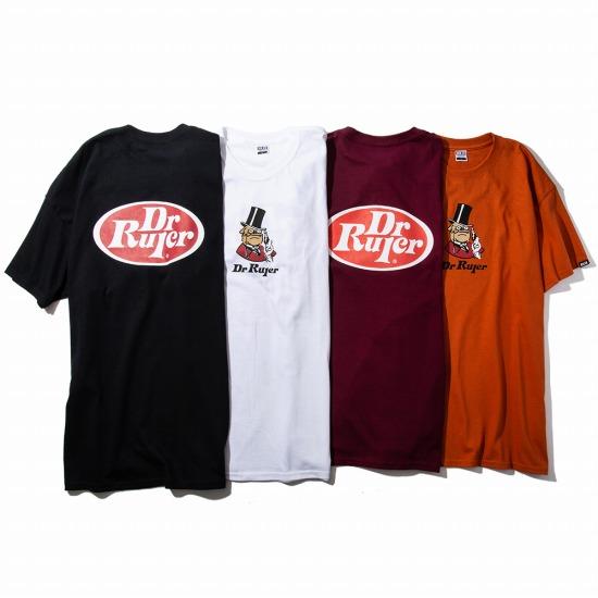 RULER ルーラー 正規通販GReeD DR. 100%品質保証 流行のアイテム TEETシャツRULER2021春