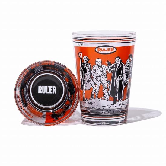RULER ルーラー 正規通販GReeD 卸直営 MONSTER PAINT パイントグラスRULER2021夏210528 日本未発売 PINT GLASS