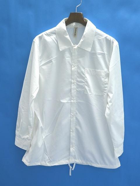 【新品】 HEALTH (ヘルス)Coach shirts コーチシャツ WHITE S