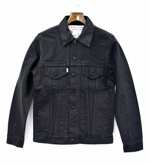 【新品同様】A Love Movement/ ALM (ア ラブ ムーブメント/エーエルエム) Reversible Moleskine Jacket リバーシブルモールスキンジャケット BLACK 38 【中古】
