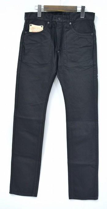 【新品】A Love Movement/ ALM (ア ラブ ムーブメント/エーエルエム) Reversible Straight Pants リバーシブルストレートパンツ BLACK 28