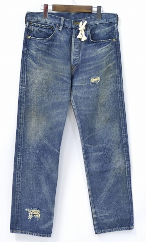 【中古】 SWAGGER (スワッガー) SELVEDGE DENIM PANTS