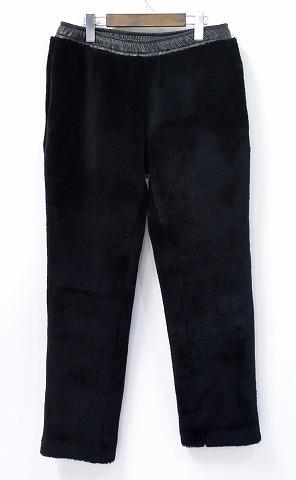 【新品】 PHENOMENON (フェノメノン) STRECH FUR PANTS ストレッチファーイージーパンツ M BLACK 14AW STRETCH