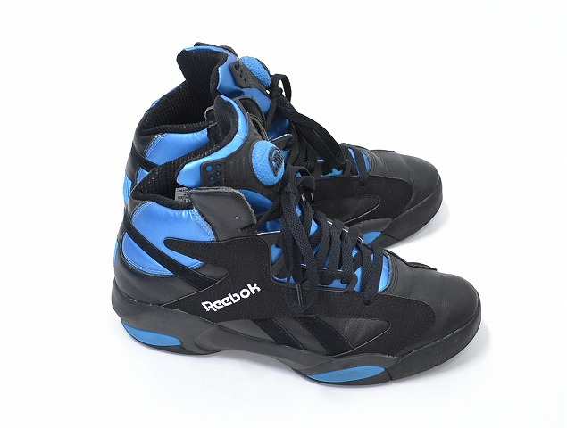 sports shoes 7aee8 5ab73 (Reebok) REEBOK Shaq Attaq 1 Retro Shaq attack 1 retro US9 27 cm BLACK×BLUE  Shaquille O Neal Shoes Sneakers Shoes