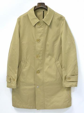 【中古】 HABANOS (ハバノス) SOUTIEN COLLAR COAT ステンカラーコート M BEIGE 15SS HBNS