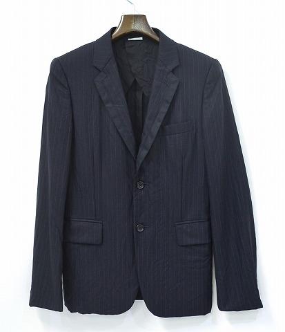 【美中古】 COMME des GARCONS HOMME PLUS(コムデギャルソン オム)AD2011 製品洗い2Bジャケット XS BLACK 【中古】