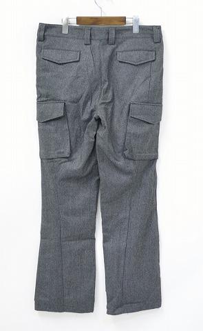 junhashimoto (junhashimoto) 3D ARMY PANTS PNT073 TWD01 GRAY 5 Army pants