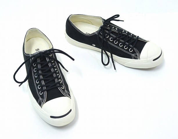 19ea628377331d MHL... x CONVERSE (Emerich El x converse) Jack Purcell JACK PURCELL MHL  US9.5 28 cm BLACK MARGARET HOWELL Shoes Sneakers