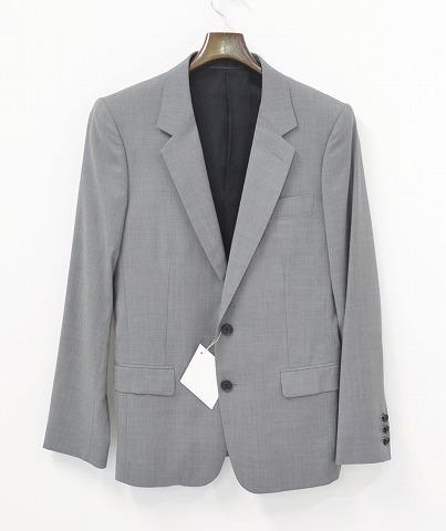 【新品】 ETHOSENS(エトセンス) シルク混 2B テーラードジャケット GREY 2 TAILORED JACKET