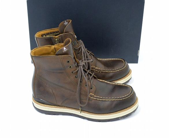 (Bizvim) x 摄魂师日本 (主印度日本) VISVIM 7 孔 MOC 趾靴 7 大厅到靴子布朗 US9.5 MMJ visvim MOC