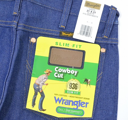 70a5de4f133 (Wrangler) Wrangler 936 slim cowboy pants DEN COWBOY CUT DENIM PANTS SLIM  FIT 31
