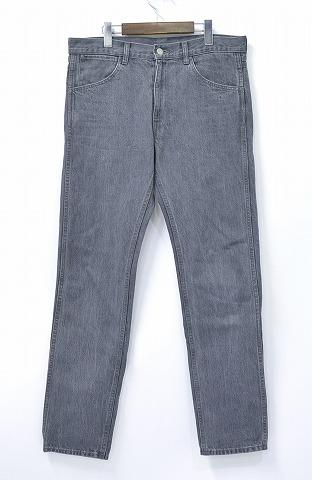 【中古】COMOLI (コモリ) Tapered 5 Pocket Pants テーパード5ポケットパンツ デニム 15F-03004 15AW GRAY 3 グレー
