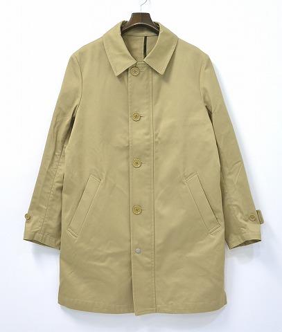 【新品】 HABANOS (ハバノス) SOUTIEN COLLAR COAT ステンカラーコート L BEIGE 15SS HBNS